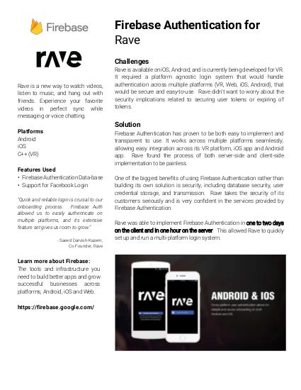 Estudo de caso do Rave