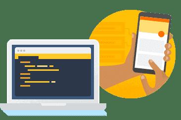 Desarrolla y prueba tu app