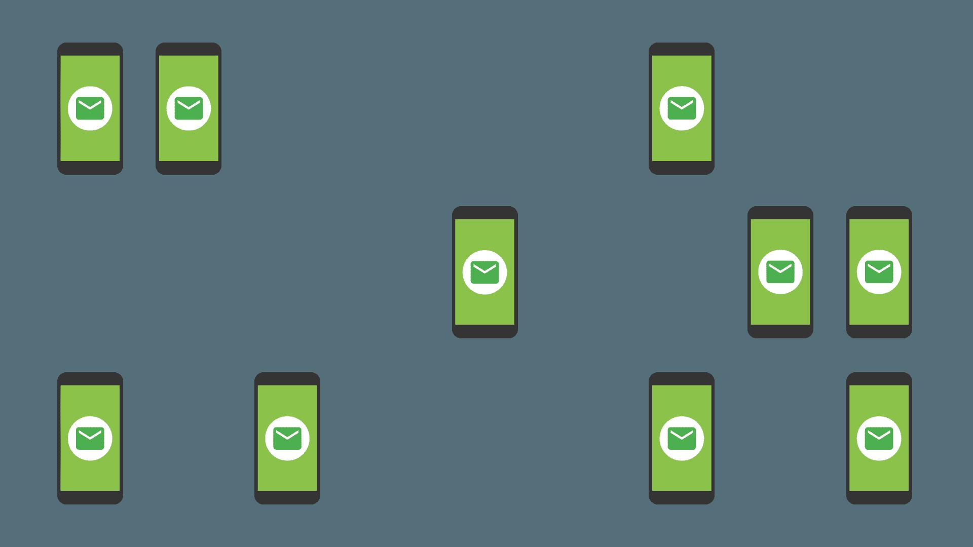 Ilustracja zaawansowanego kierowania wiadomości