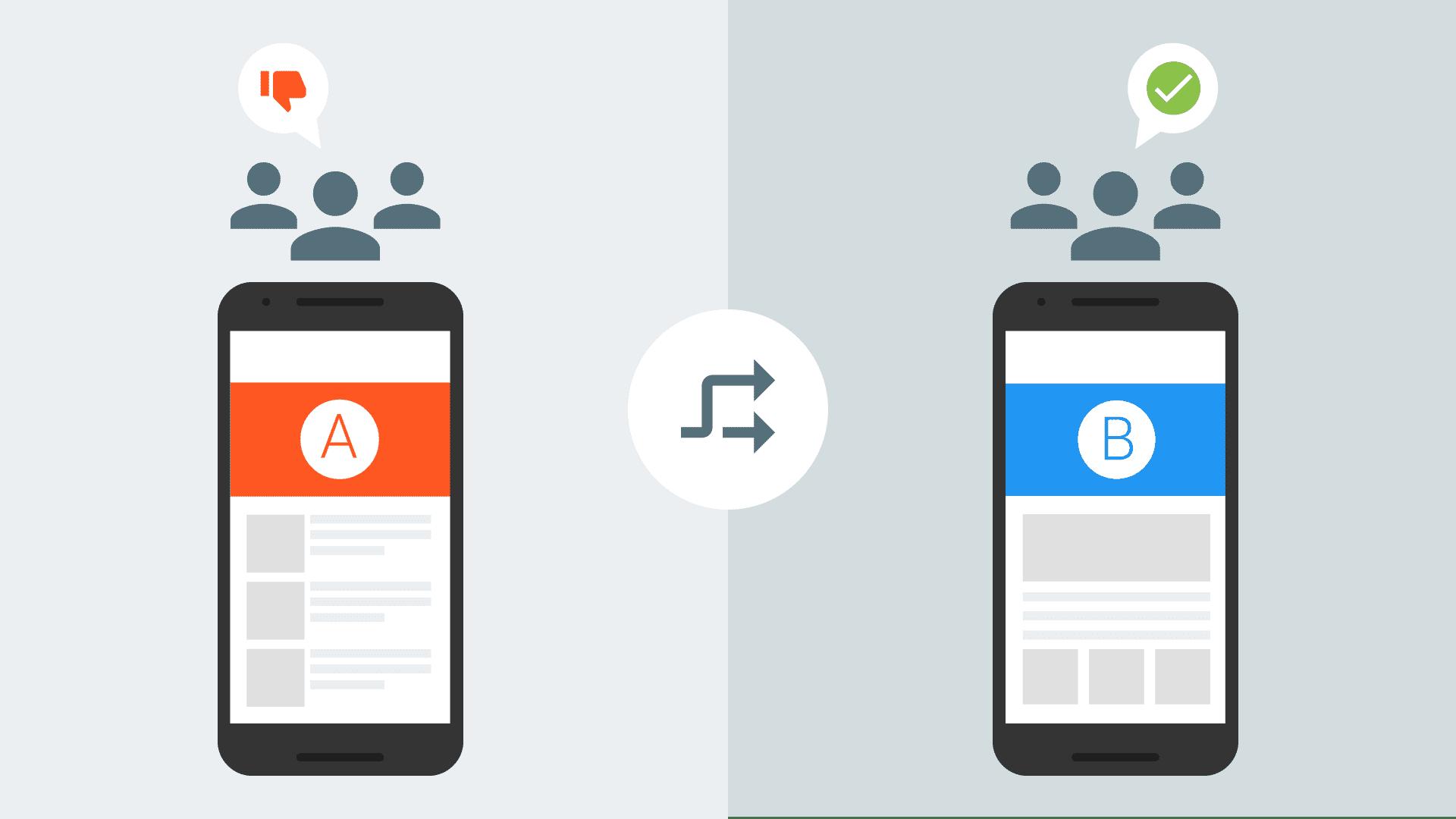 अलग-अलग दर्शकों के लिए अलग-अलग सामग्री वाला फोन